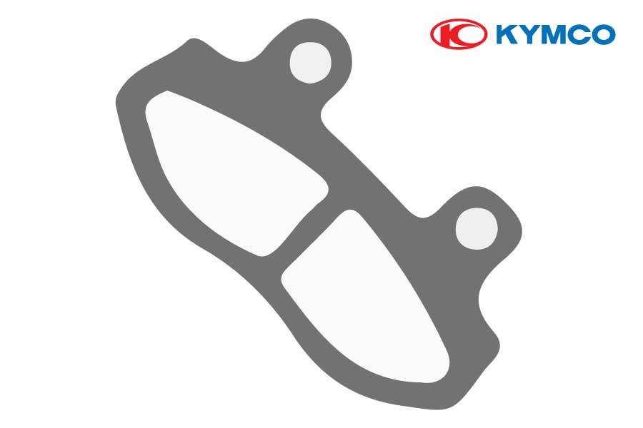 Pastillas de freno traseras para KYMCO KXCT 300